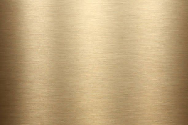 Gold Brushed Metal Texture Scream In 2019 Metal