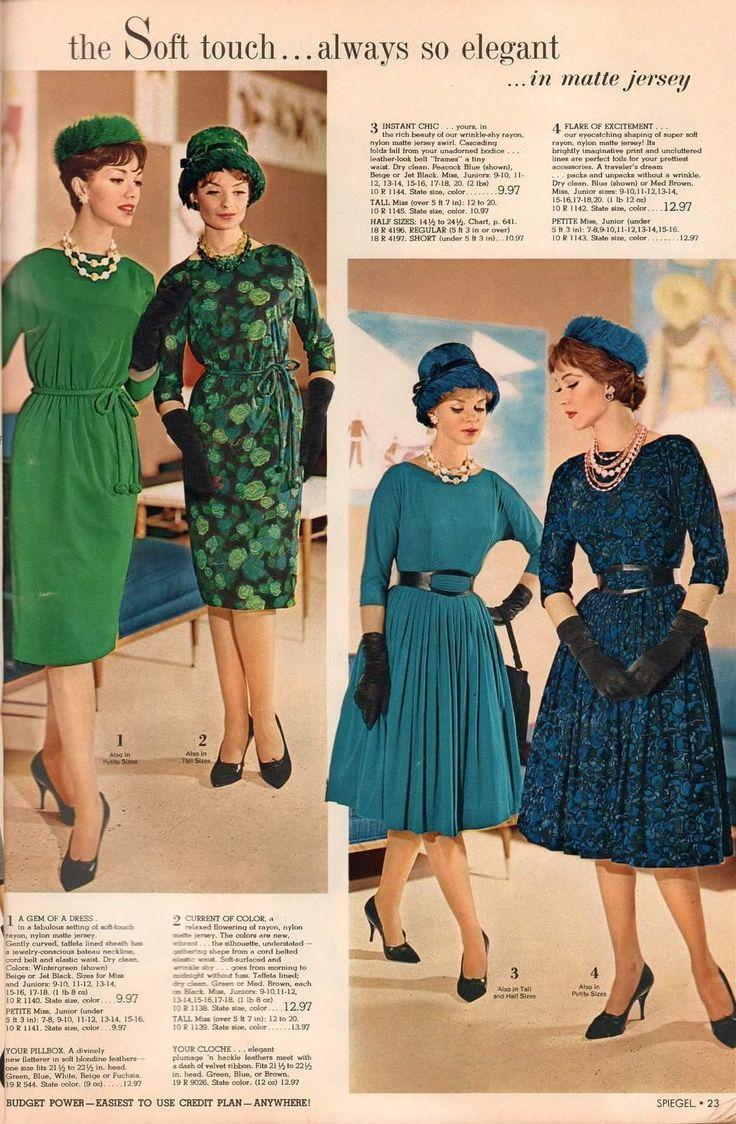 390 best 60ies Fashion images on Pinterest | Retro kleidung, Vintage ...