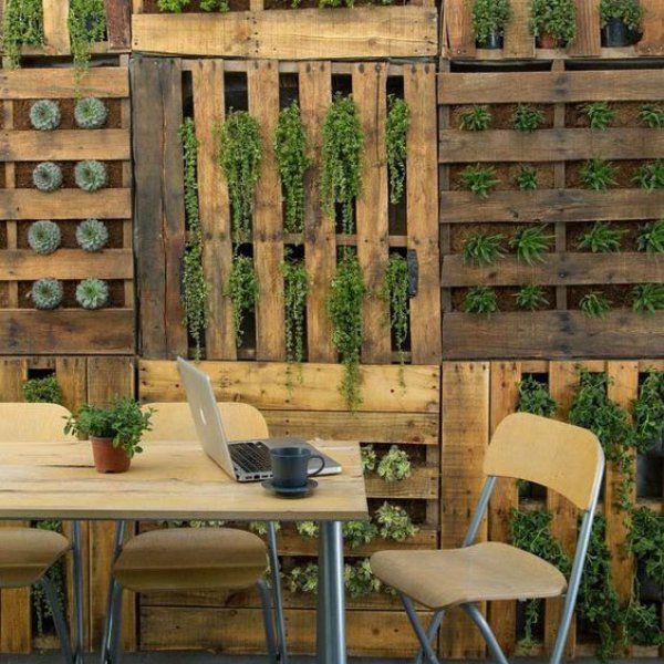 17 meilleures id es propos de mur vegetal sur pinterest for Realiser un mur vegetal exterieur