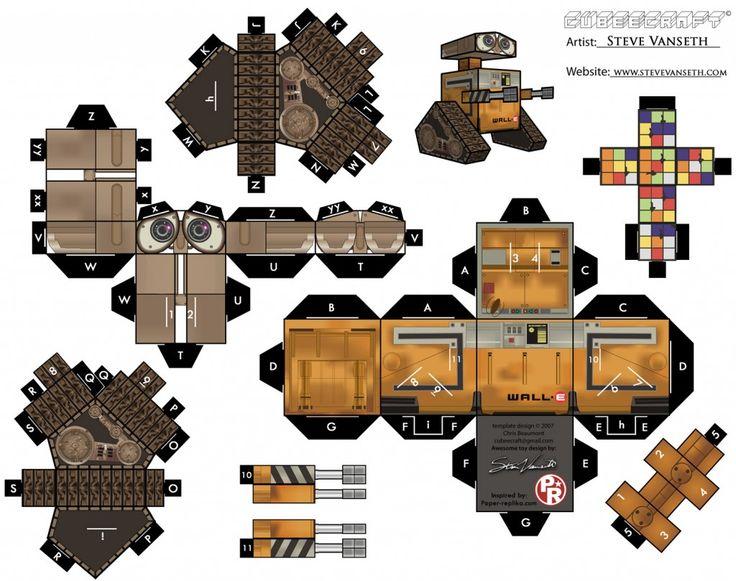 Paper Foldable Wall-E