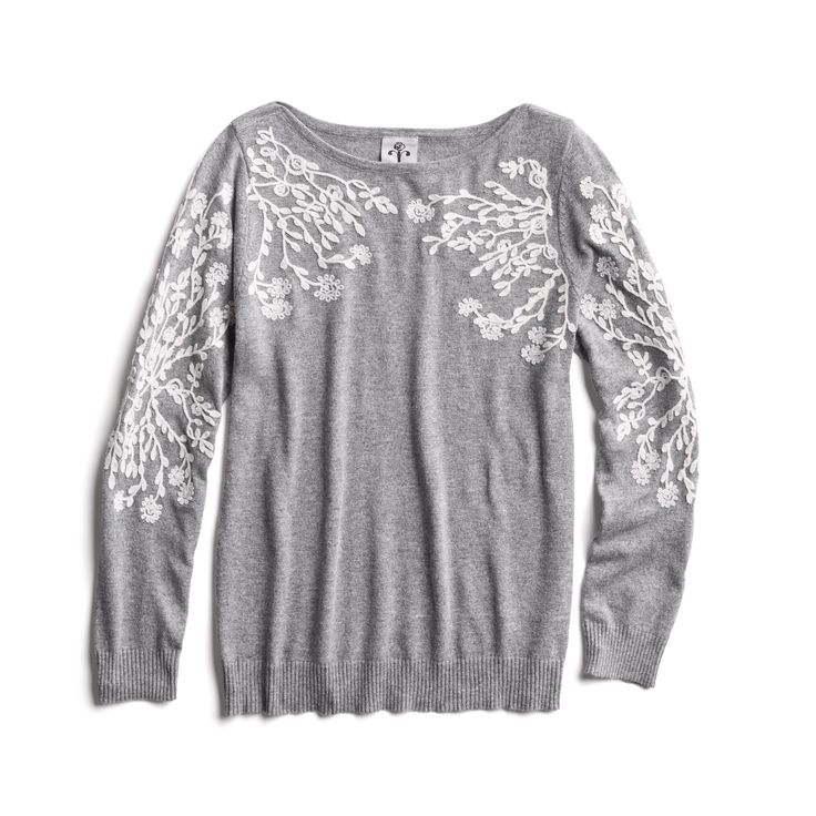 Winter Stylist picks: Floral embroidered sweater