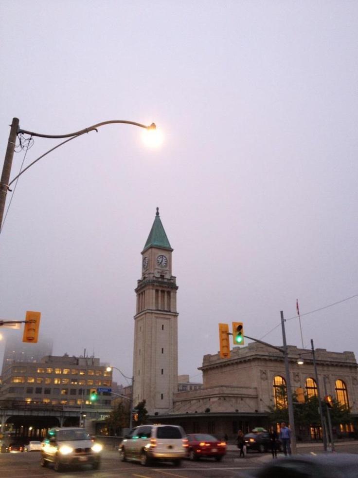 Yonge Street. 7:00pm #Toronto