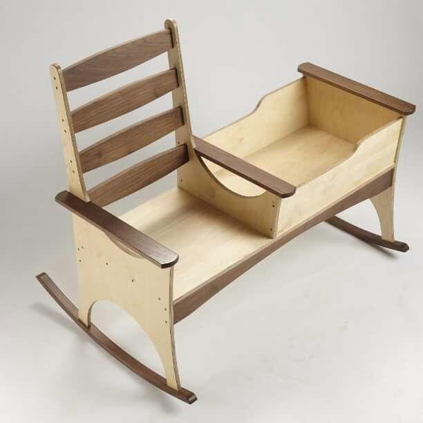 Cuna y silla Carmina