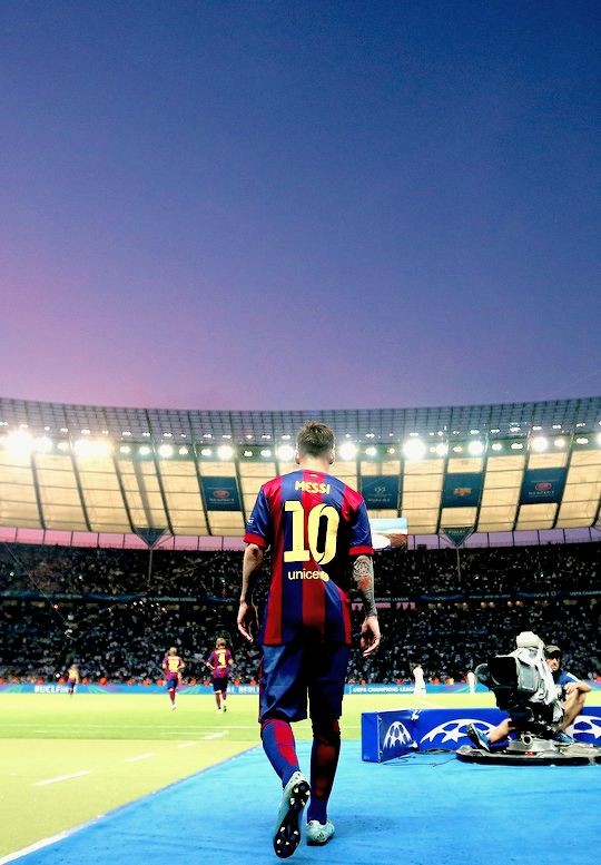 The king Lionel Messi.