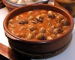 Caracoles a la catalana caseros by www.vinosyrecetas.com