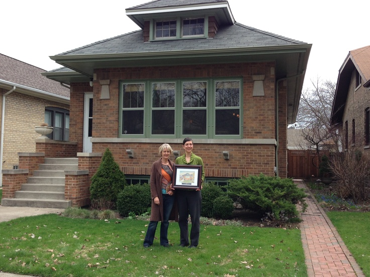 We Would Like To Extend Our Congratulations Julie Liska Historic Chicago Bungalow Owner And