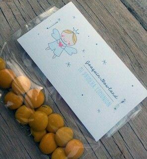 Perfectos estos #souvenirs para #bautismos #comuniones2017 #nenes #boy INTHESKY.COM.AR