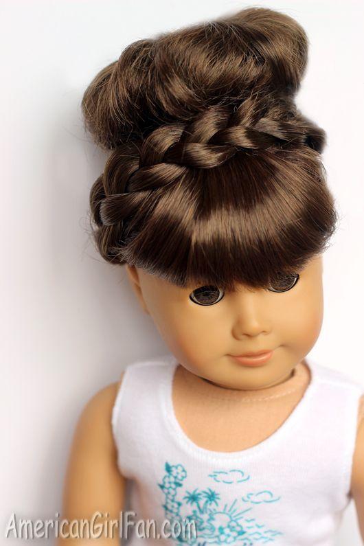 American Girl Doll Disney Hairstyles : Best maiden braid ideas on