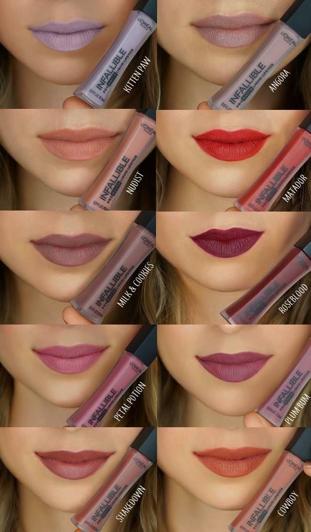 Loreal infallible matte liquid lip