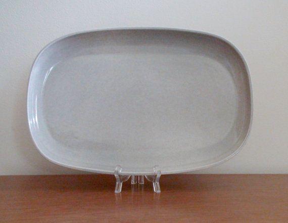 Russel Wright American Modern Platter  Granite by BoomerangModern