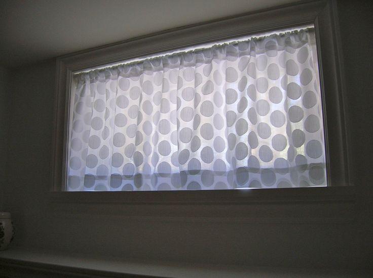 Basement Window Curtain Nice Ideas