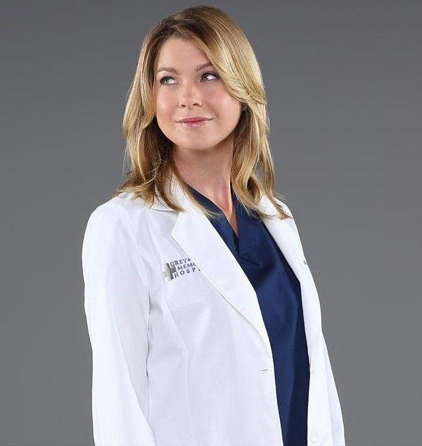 Ellen Pompeo as Meredith Grey -Season 10 cast photos ...