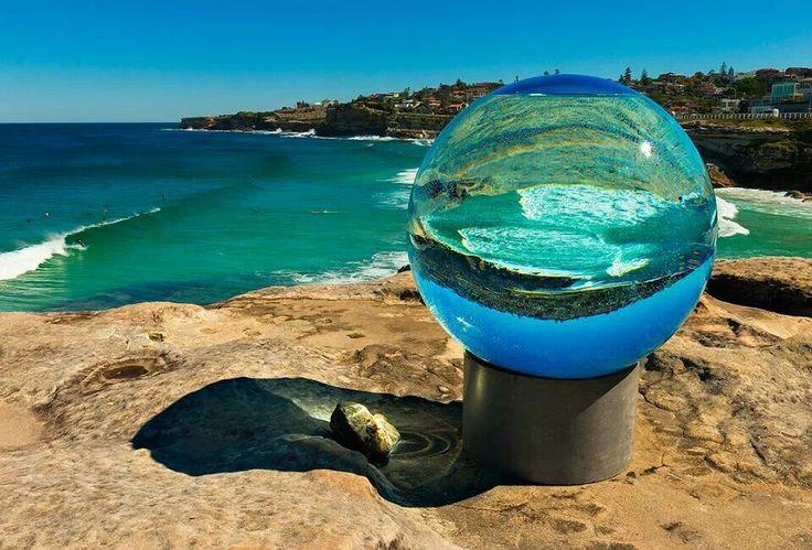 Sculptures by the sea.  Sydney, Australia