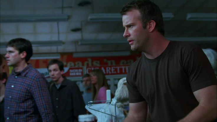 The Mist 2007: not to be confused with John Carpenter's The Fog. You can never go wrong with Stephen King (in my opinion). This movie has your stomach clenched from the very beginning.