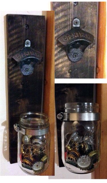 Wall Mount Cast Iron Bottle Opener with by SimplySouthernCrafts, $22.00
