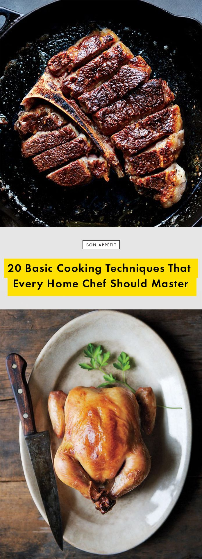 20 Basic Cooking Techniques That Every Home Chef Should Master | Bon Appetit