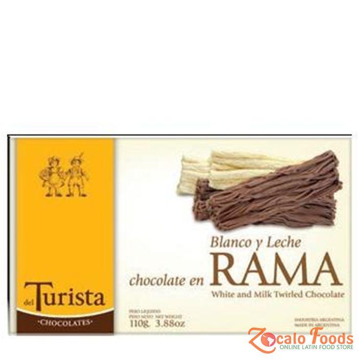 del Turista Chocolate en Rama Mixto 100g 3.88 oz