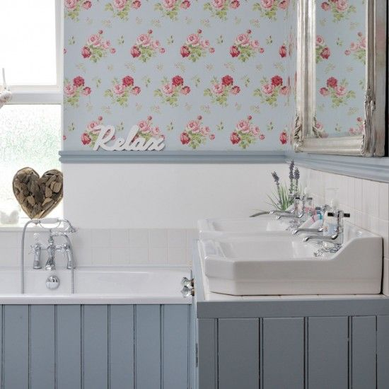 Easy Bathroom Decorating Ideas Country Style BathroomsShabby Chic
