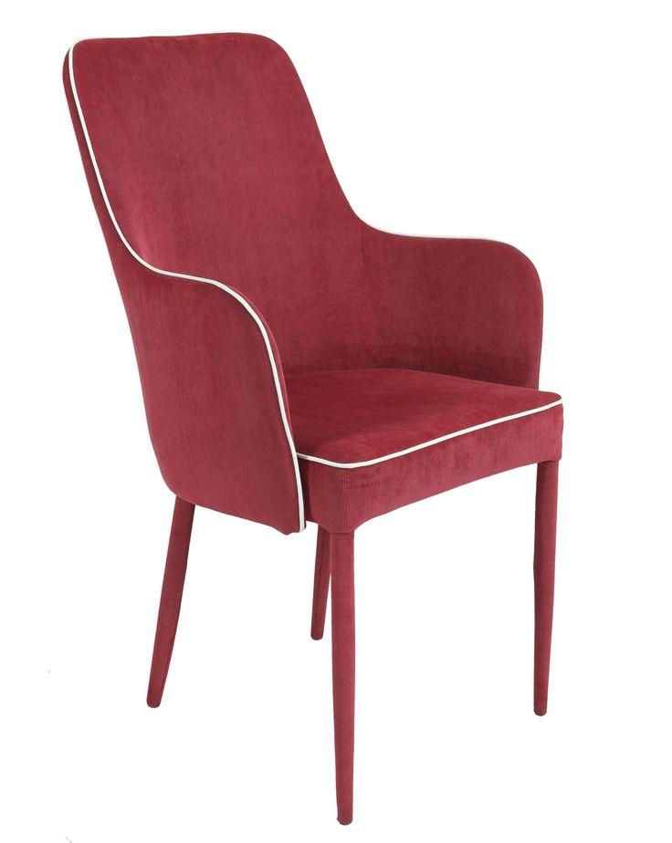 Jedálenská stolička / kreslo AMBRA - SCONTO NÁBYTOK-moderný dizajn s retro prvkami