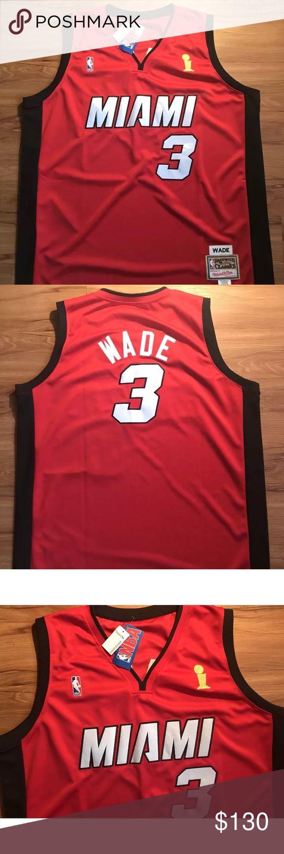 NWT Mitchell & Ness Miami Heat Wade jersey Sz 56 New with tags, NBA finals Mitchell & Ness Jersey. Mitchell & Ness Other