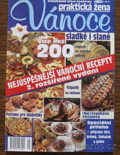 Časopisy - vánoční cukroví - 1