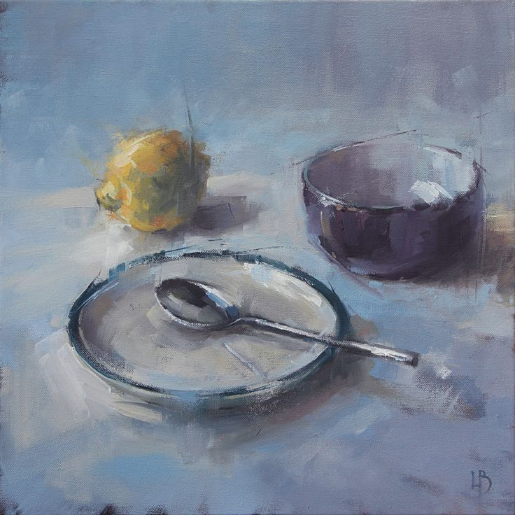 FINEARTSEEN - View #152 by Ollie Le Brocq. A beautiful original oil painting of still life. The perfect artwork for your kitchen or home. Available on FineArtSeen - The Home Of Original Art. Enjoy Free Delivery with every order. >