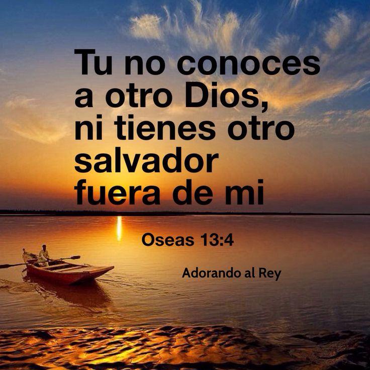 Mas yo soy Jehová tu Dios desde la tierra de Egipto; no conocerás, pues, otro…