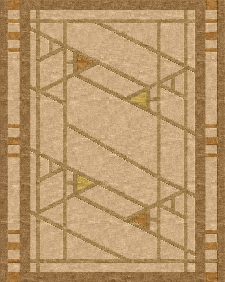 1000 images about prairie mission style rugs on pinterest custom rugs frank lloyd wright and - Frank lloyd wright rugs ...