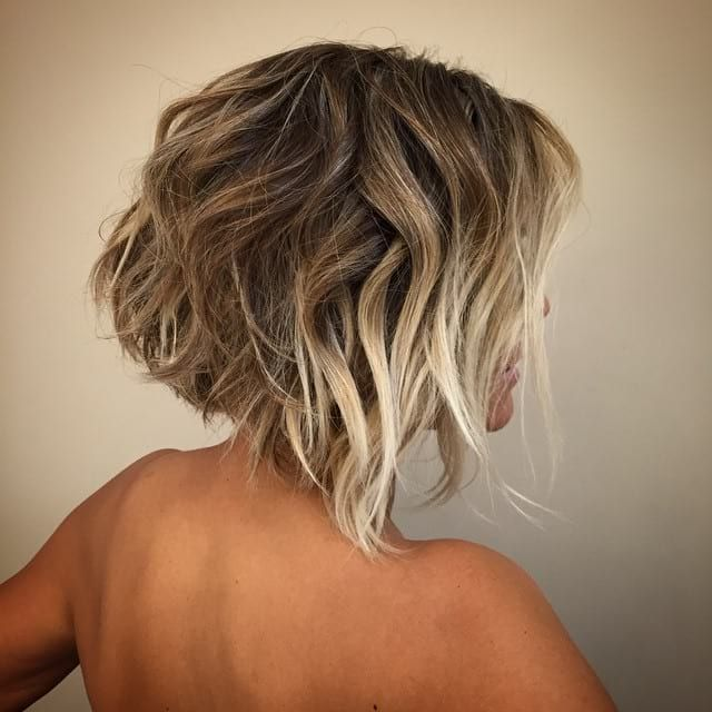 how to cut your own curly hair into a bob