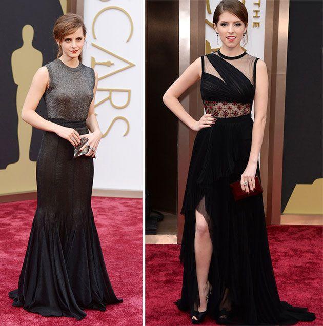 2014 Oscars Red Carpet Fashion: Emma Watson, Anna Kendrick  #Oscars #celebrities #redcarpetfashion