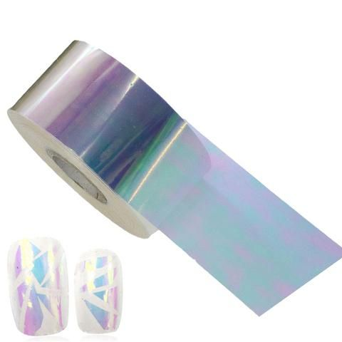 100x4cm New Summer Designs Blind-Blind Glass DIY Nail Art