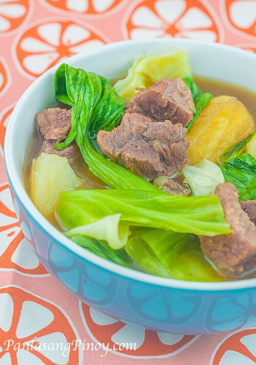 Nilagang Baka Recipe (Tender Boiled Beef Soup)