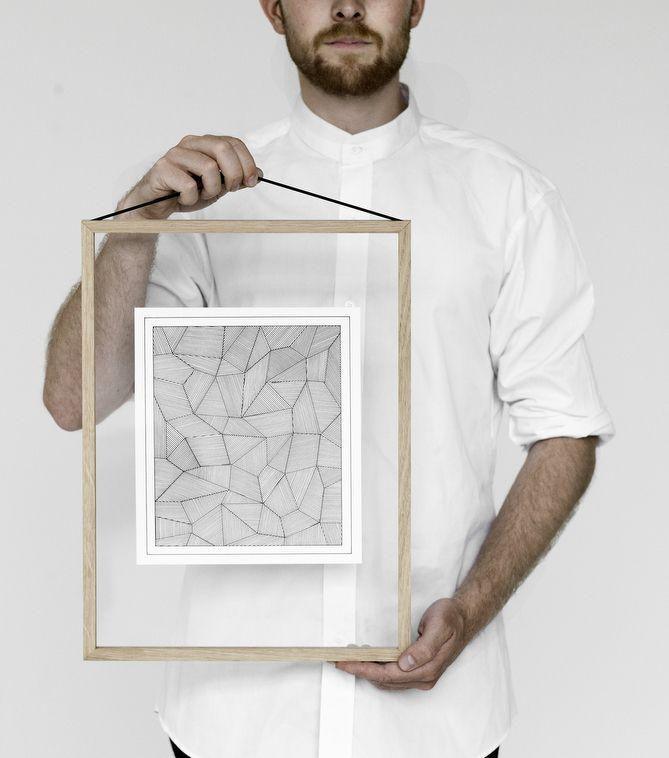 To make your art even more stunning. #frame #minimalist #design