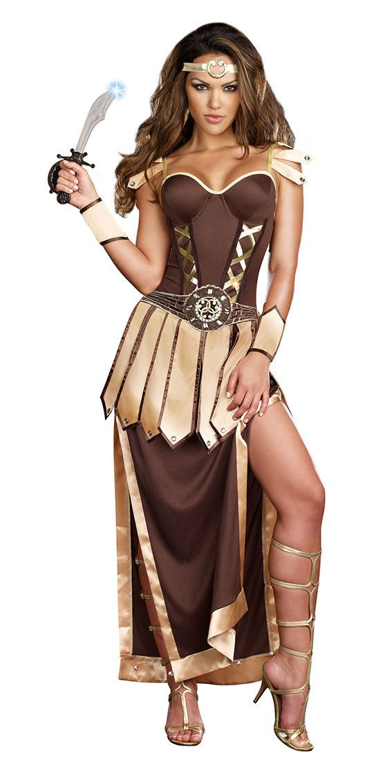 Sexy Roman Warrior Adult Costume - Greek and Roman Costumes