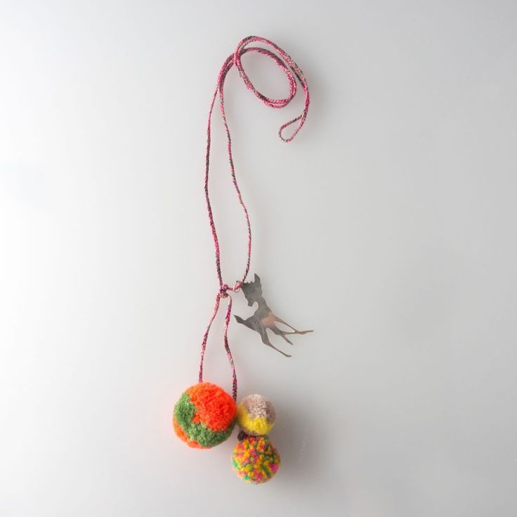Necklace - Bambie and Pom Poms | Jewel Rocks London | Sprogs Inc