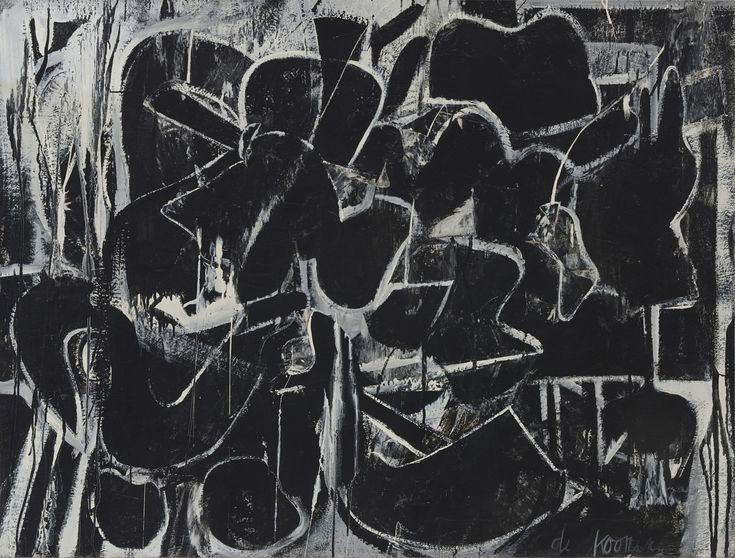 Willem de Kooning. Painting. 1948
