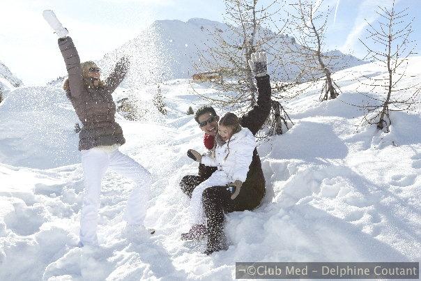 Club Med Aime la Plagne - Un Village chaleureux et confortable face au Mont Blanc.