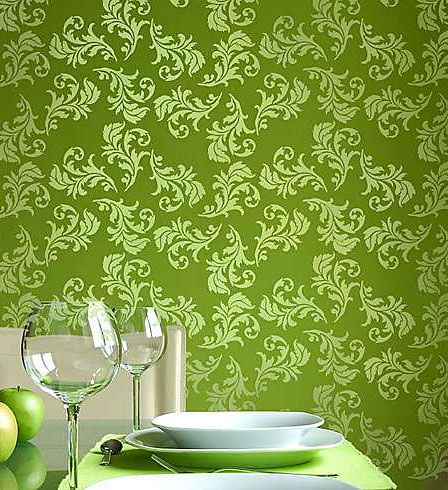 10 Best Arabesque Stripe Wall Stencil Images On Pinterest
