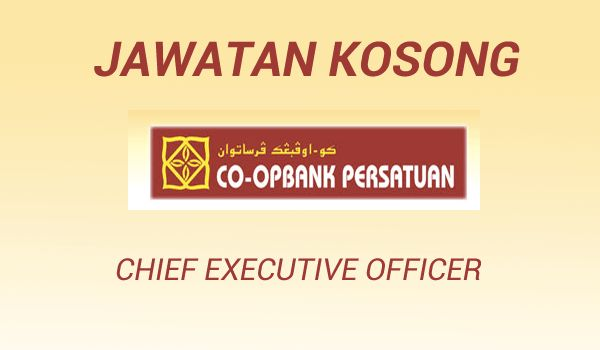 Jawatan Kosong Koperasi Co-opbank Persatuan Malaysia Berhad   Koperasi Co-opbank Persatuan Malaysia Berhad is a cooperative banking entity was originally established and officially registered as a cooperative company on 7 June 1950 under the Cooperative Company Ordinance 1948 (which is currently known as the Cooperative Act 1993) and simply known as Co-opbank Persatuan based in Penang Malaysia. Co-opbank Persatuan has 20 branches located in Malaysian Peninsular Sabah and Sarawak. We have a…