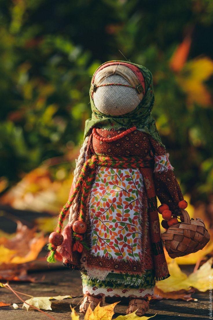 Купить Рябинка - разноцветный, народная кукла, народная традиция, Рябинка, Рябина, оберег, обереги в подарок
