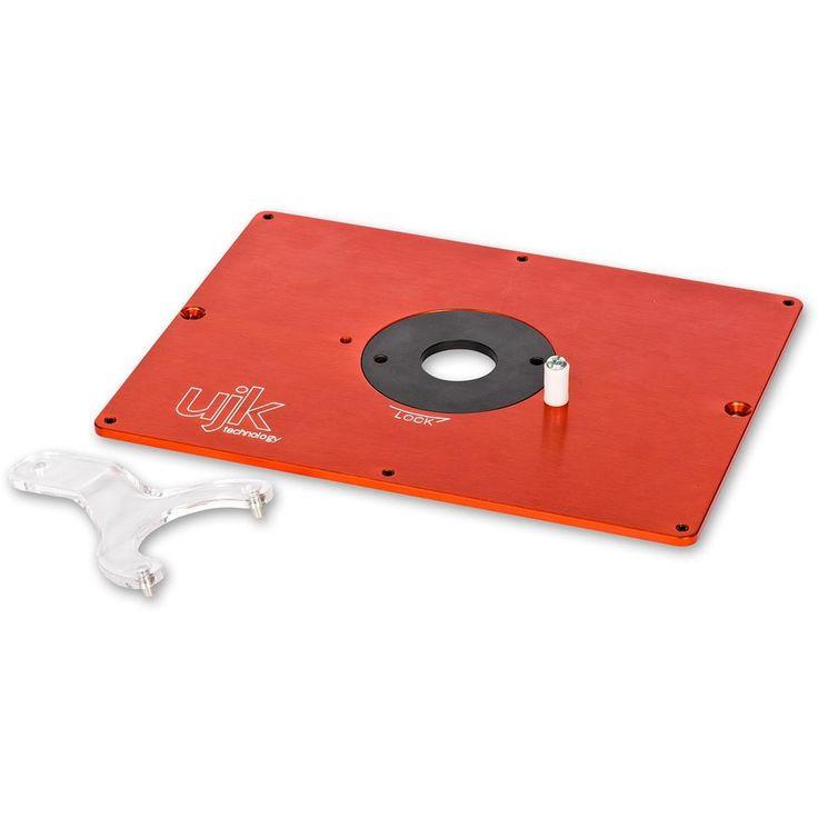UJK Technology 6mm Aluminium Router Table Insert Plate