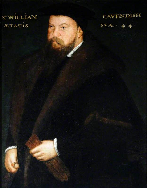 Sir William Cavendish (1505?–1557), Aged 44