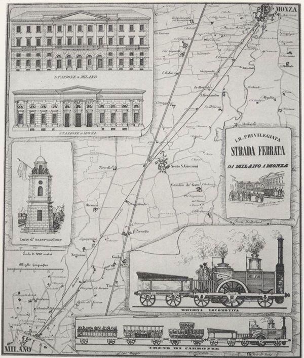 17 agosto 1840 si inaugura laferrovia, definitaImperiale…