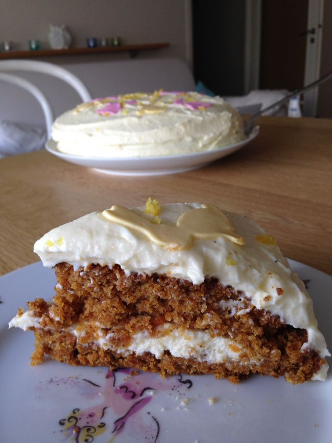 Carrot cake for easter :)