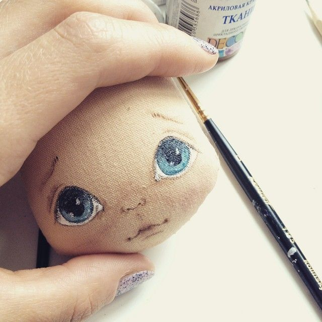 Мое воскресное утро;) #кукла #куколка #куклаолли #олли #оллипроцесс #doll #dolls #artdoll #textilldoll
