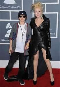 Cyndi Lauper And Son Declyn