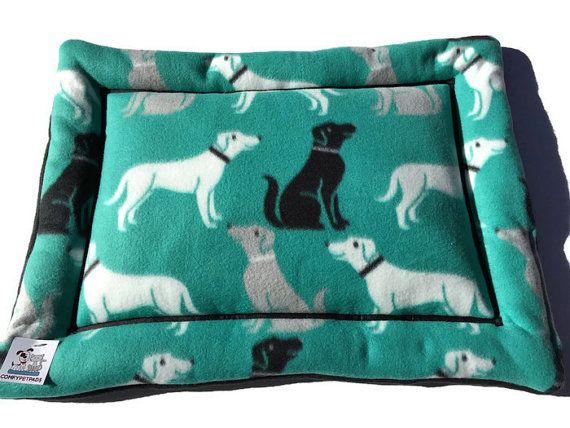 Dog Crate Pad, Crate Liner, Small Dog Bed, Couch Pad, Puppy Mat, Pet Travel Items, Labrador Fabric, Crate Pet Mats, Car Seat Cover for Dog #MadeInColorado #SmallPetBed #CouchPad #SmallDogBed #DogCratePad #PuppyMat #CatCushion #PetTravelItems #comfypetpads #CrateLiner