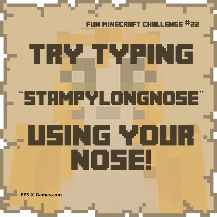 Etqmpylongnowe; Wow, that is harder than you think, you can't see what the tip of your nose is touching.