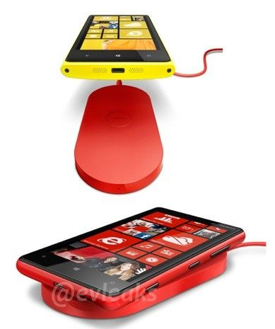 Nokia Lumia wireless charging pad breaks cover