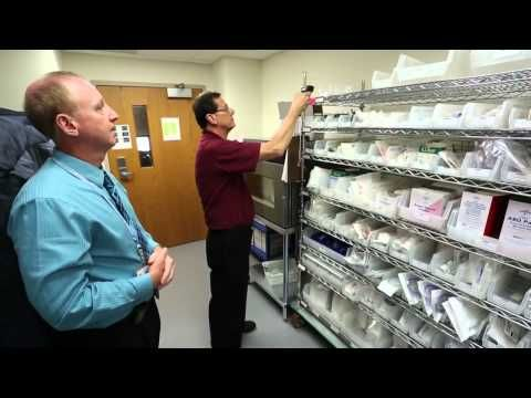 Two Bin Supply System at St Clair Hospital - YouTube